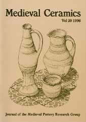 Medieval Ceramics 20, 1996