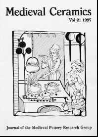 Medieval Ceramics 21, 1997