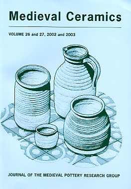 Medieval Ceramics 26-27